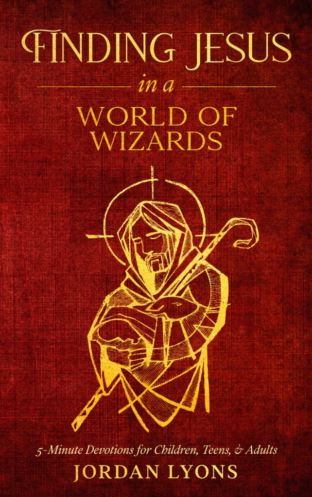 Finding Jesus in a World of Wizards book cover
